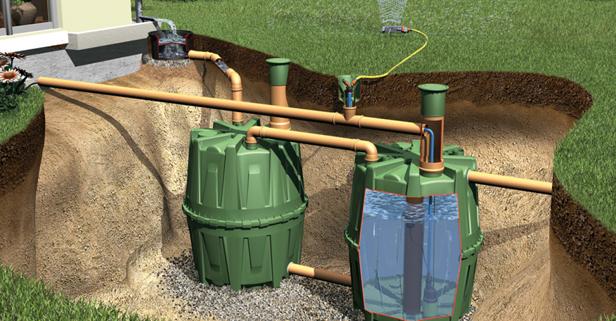 канализация для деревянного дома